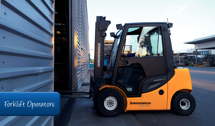 forklift driver hire in sydney